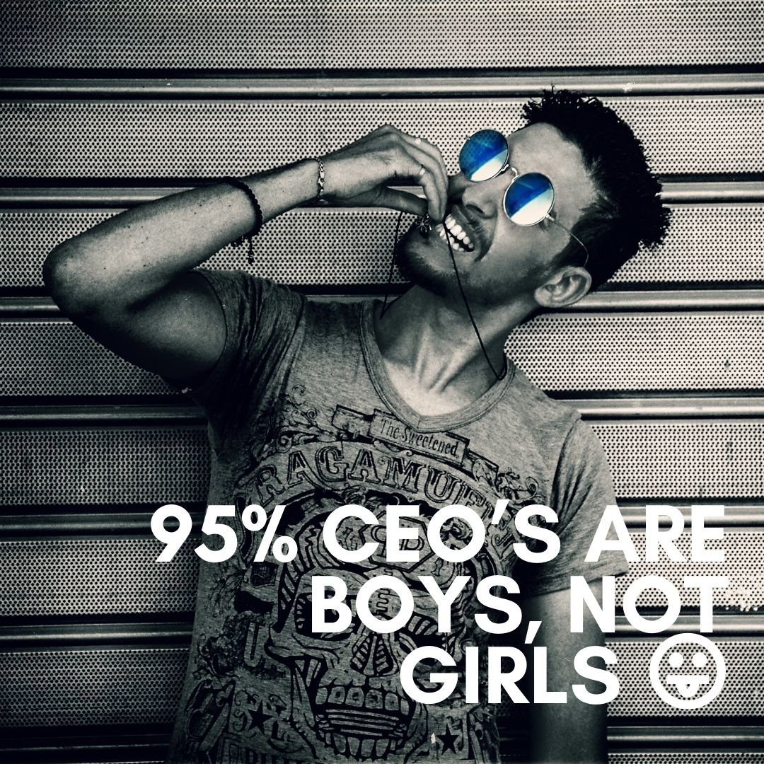 95 CEOS are boys not girls WhatsApp Dp image full HD free download.