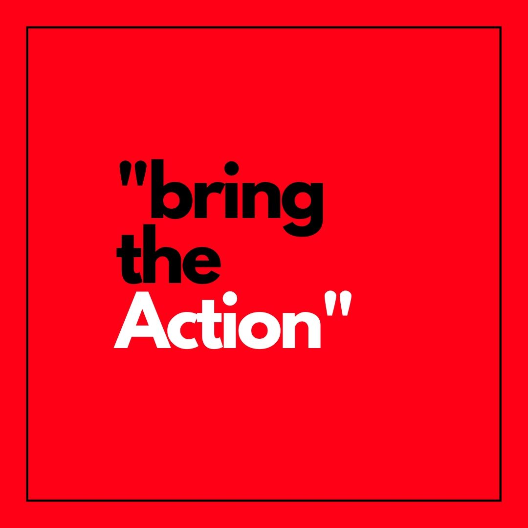 Bring the Action WhatsApp Dp image full HD free download.
