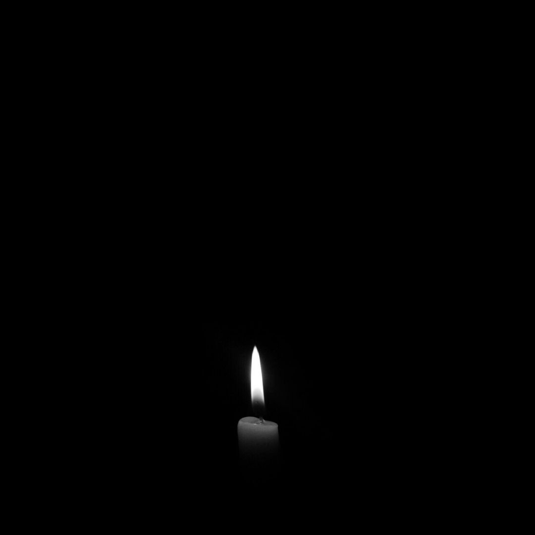 Candle Black Backgroung WhatsApp Dp Image full HD free download.