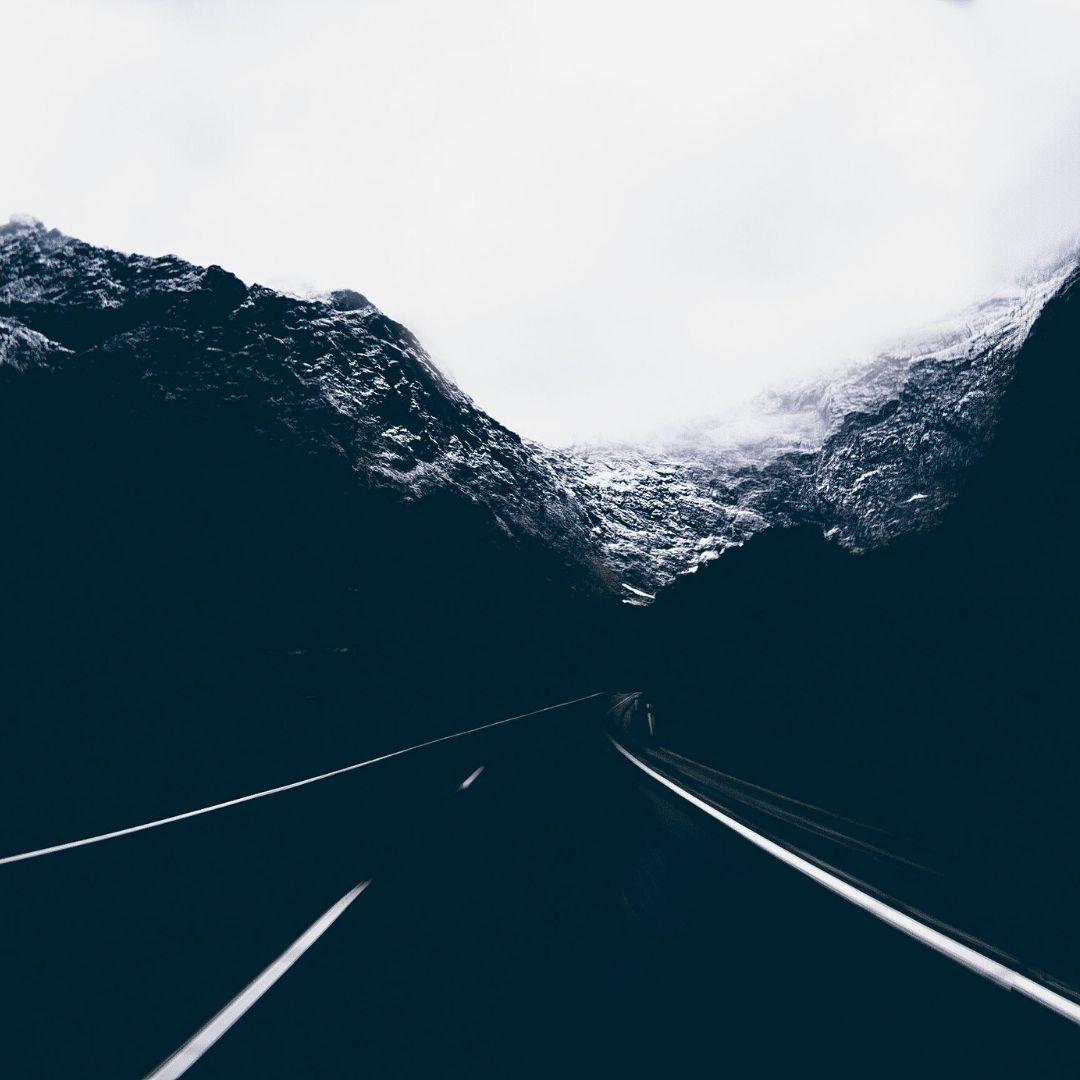 Dark Empty road nature WhatsApp Dp Image full HD free download.