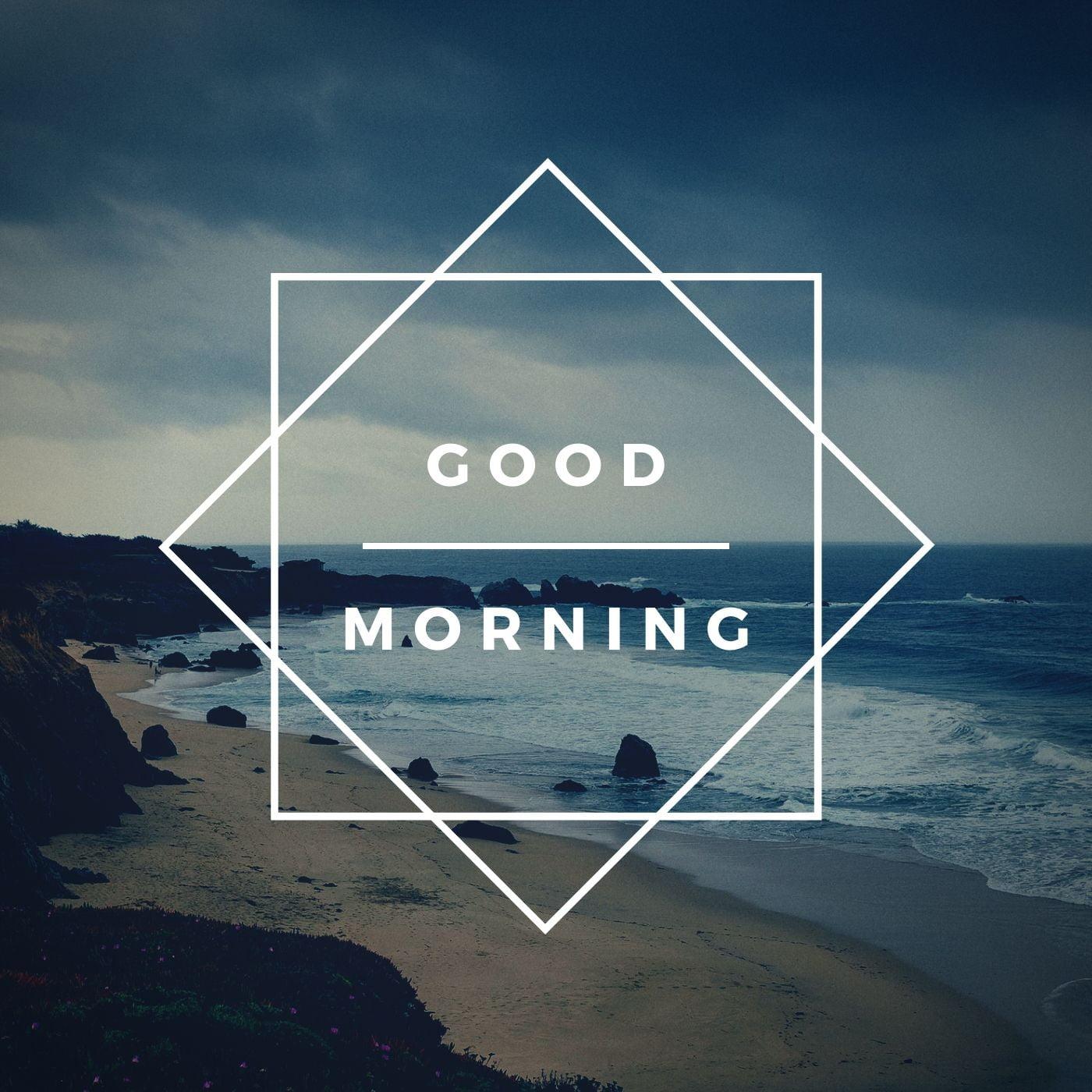 Good Morning Beach Nature Image full HD free download.