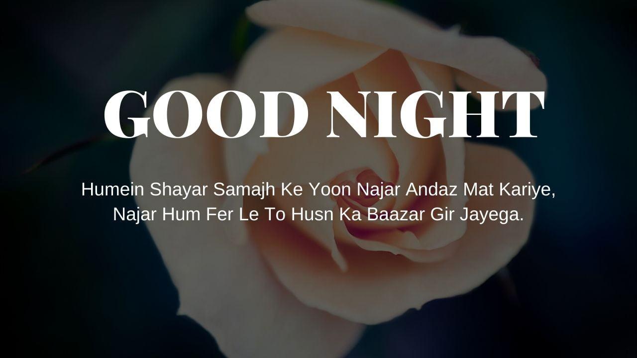 Good Night Shayari Image Hd full HD free download.