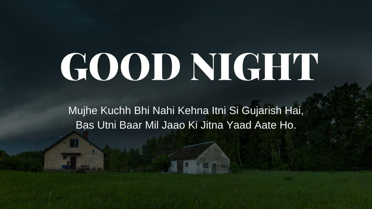 Good Night Shayari image free download full HD free download.