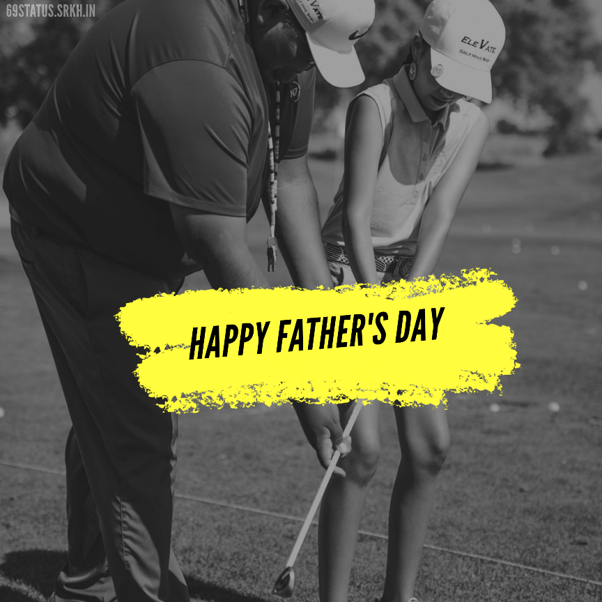 Happy Fathers Day Golf Image full HD free download.