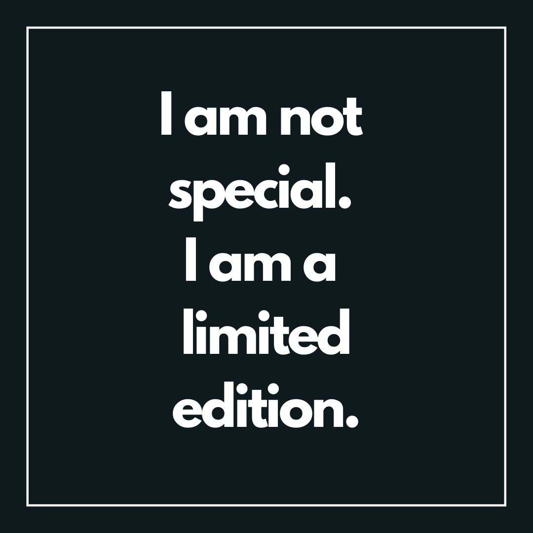 I am special I am a limited edition WhatsApp Dp image full HD free download.