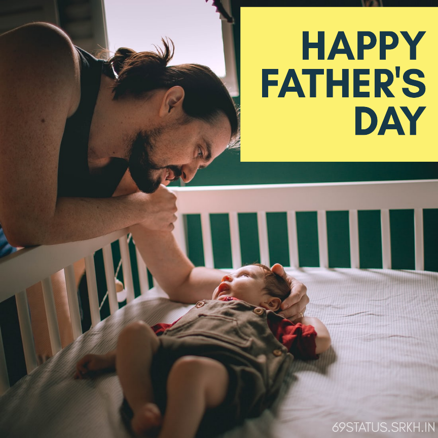 Image of Happy First Fathers Day full HD free download.