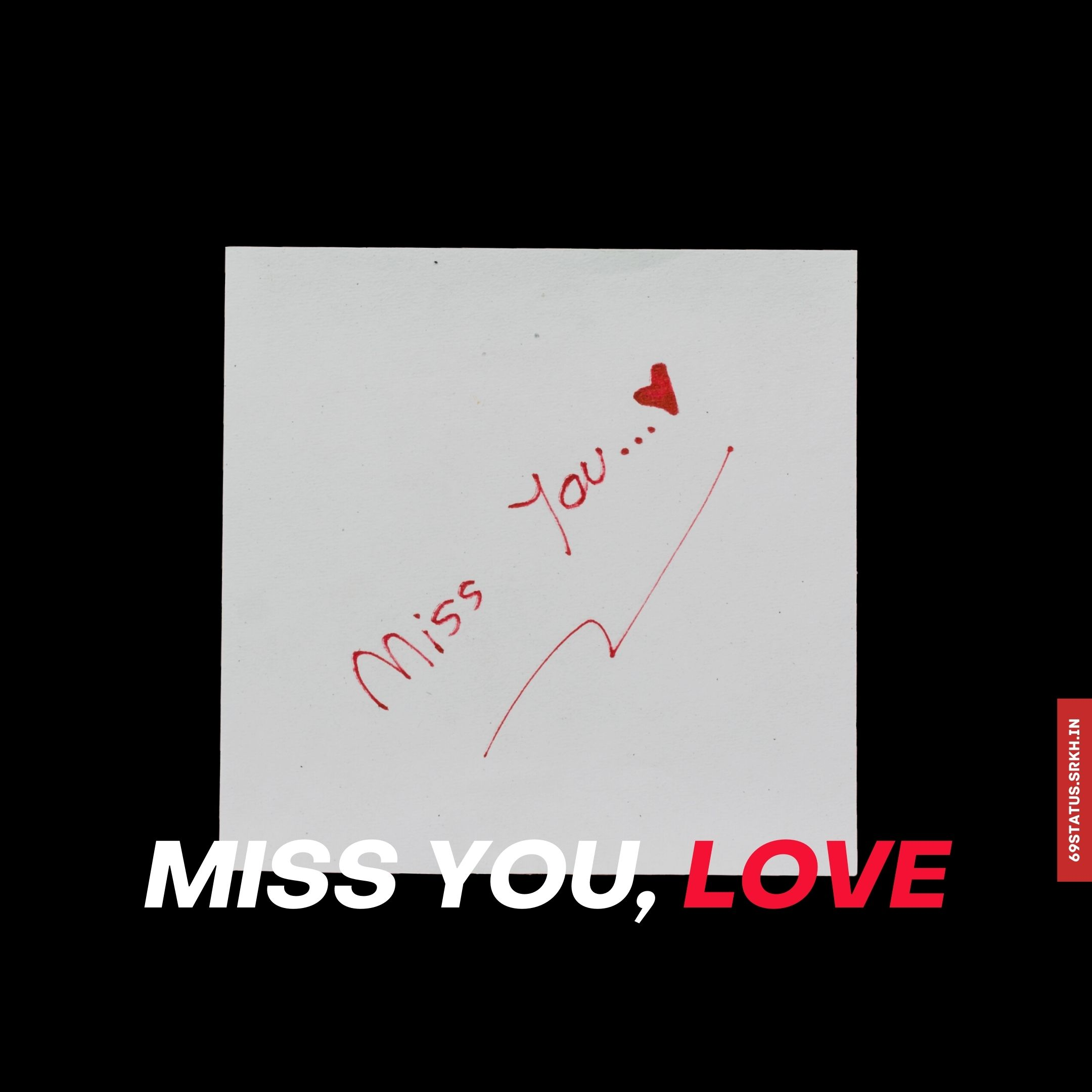 Miss you love images full HD free download.