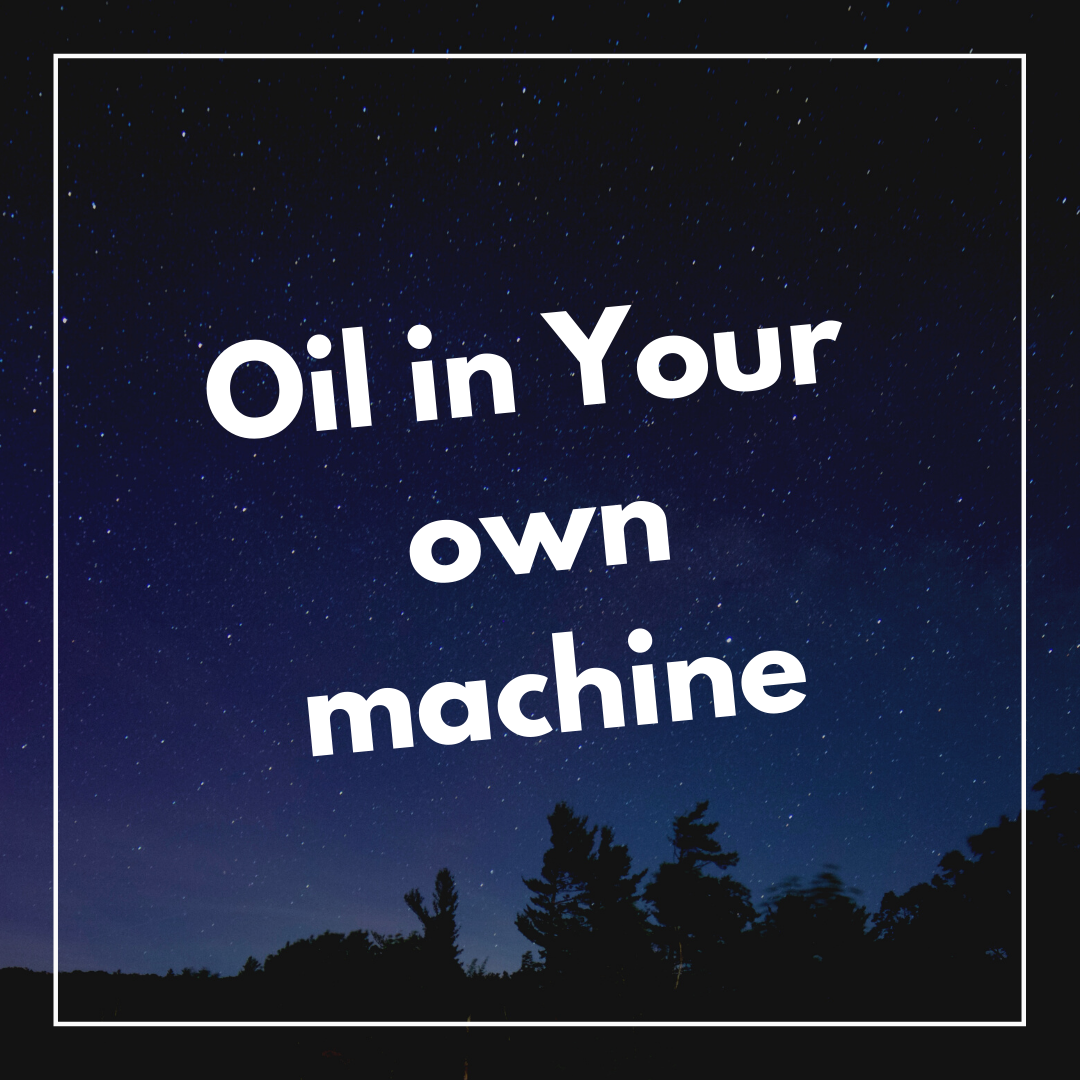Oil in your own machine Attitude image for WhatsApp Dp full HD free download.