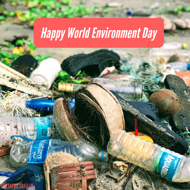 World Environment Day Plastic Pollution Image HD full HD free download.