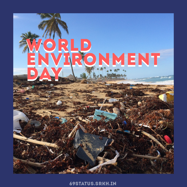 World Environment Day Plastic Pollution Image full HD free download.