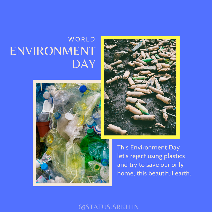 World Environment Day Plastic Pollution Images full HD free download.