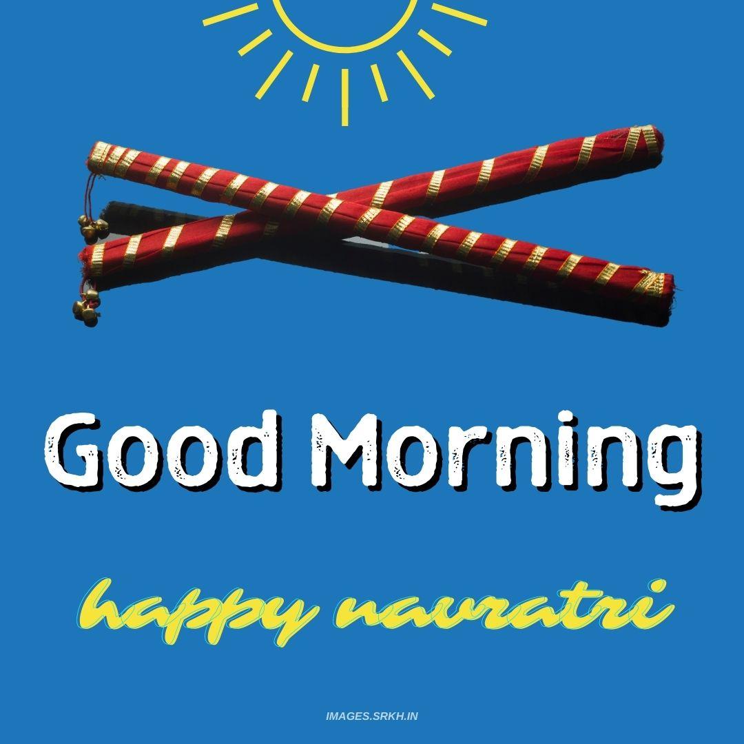 Good Morning Navratri Image