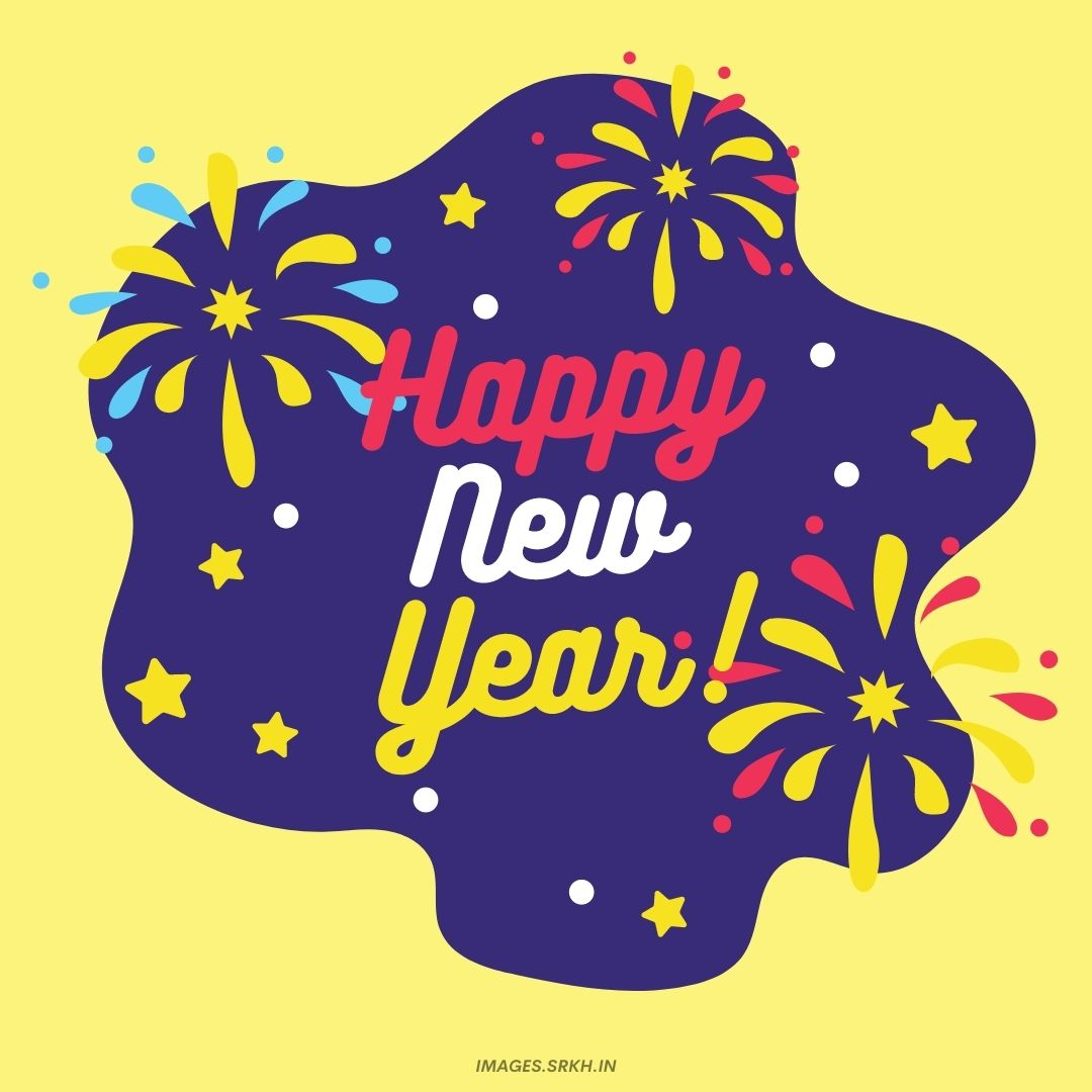 Happy New Year Png in FHD