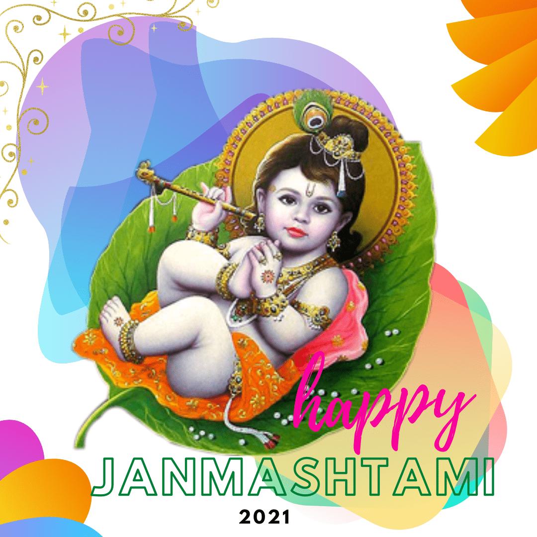 Cute Krishna Janmashtami