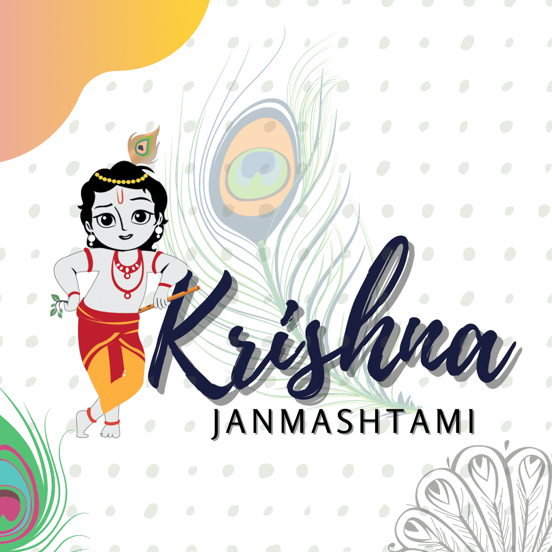 Krishna Janmashtami Drawing Hd Images