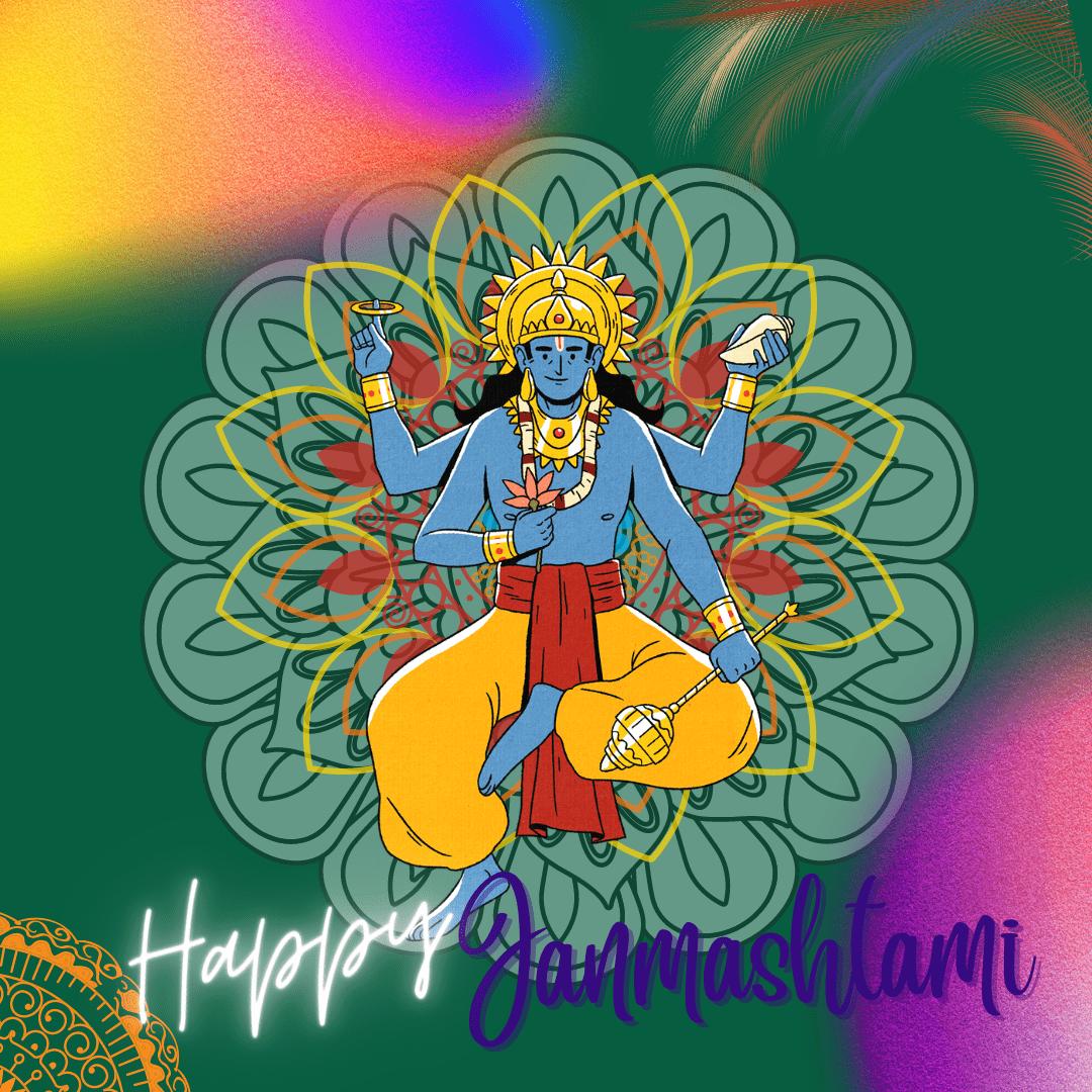 Lord Krishna Wishes Photos