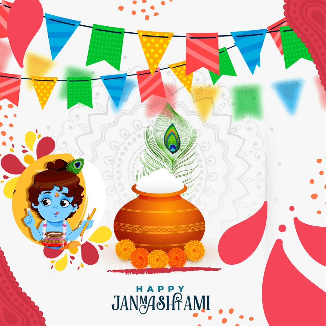Shree Krishna Decoration Images